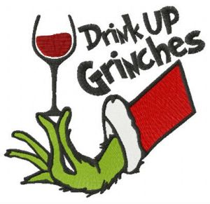 Drink up Grinches red vine