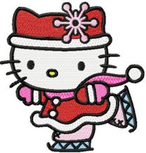 Hello Kitty Christmas Dance