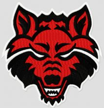 Arkansas State Red Wolves college logo