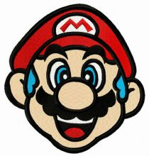 Blue-haired Mario