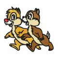 Chip & Dale 1 embroidery design