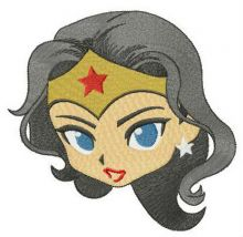 Wonder woman's face