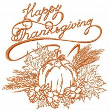 Happy thanksgiving my harvest