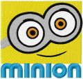 Minion Bob smile embroidery design