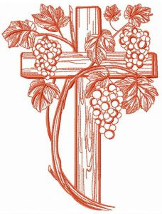 Grapevina and cross