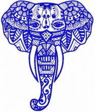 Tribal elephant 2