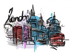 London 6 machine embroidery design
