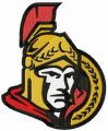 Ottawa Senators logo embroidery design