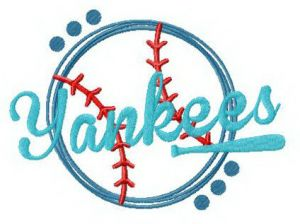Yankees funny fan logo