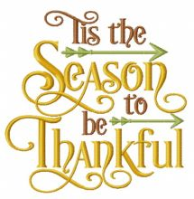 Season to be thankful