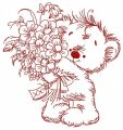 Bouquet for you 4 embroidery design