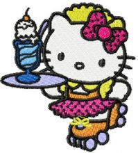 Hello Kitty Waitress