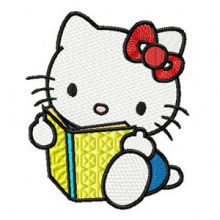 Hello Kitty Reading Book