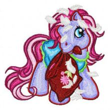 My Little Pony with pillow