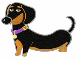 Buddy machine embroidery design