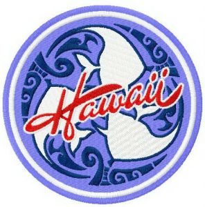 Hawaii badge