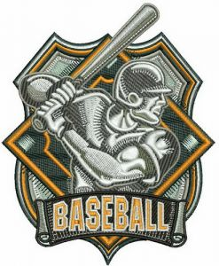 Baseball badge 2