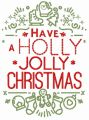 Have a Holly Jolly Christmas 2 embroidery design