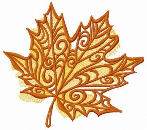 Maple leaf 2