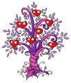 Magic tree 4 embroidery design