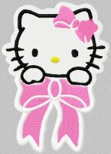 Hello Kitty Small Badge