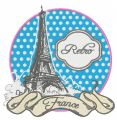 France embroidery design