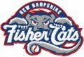 New Hampshire Fisher Cats logo embroidery design