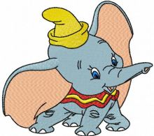 Dumbo playing