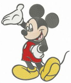 Wonderful Mickey Mouse machine embroidery design