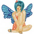 Modern Fairy 1 embroidery design