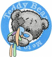 Teddy Bear with toy badge