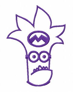 Purple Minion 6