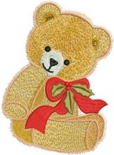 Teddy bear Christmas gift 2