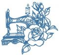 Old sewing machine 6 embroidery design