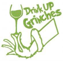 Drink up Grinches red vino