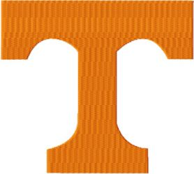 Tennessee Volunteers logo machine embroidery design