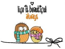 Life is beautiful always