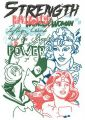 Superwomen embroidery design