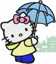 Hello Kitty Rainy Day
