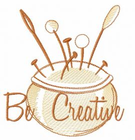 Be creative free embroidery design
