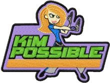 Kim Possible Badge