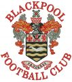 Blackpool football club logo embroidery design