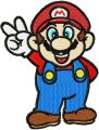 Super Mario embroidery design