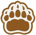 Brown Bears alternative logo embroidery design