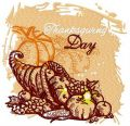 Thanksgiving day 2 embroidery design