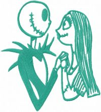 Jack and Sally forever one color