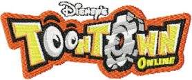 Toontown machine embroidery design