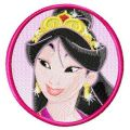 Mulan  embroidery design