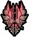 Harley Davidson Thorn embroidery design