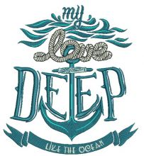Love deep like ocean